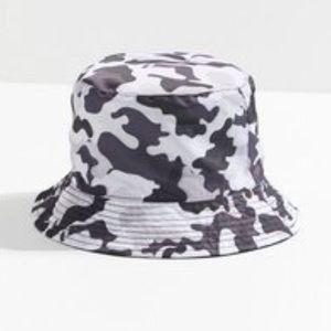 UO Nylon Camo Bucket Hat